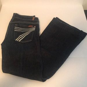 Seven for all mankind dojo jeans dark wash